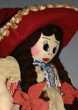 CLOTH  DOLL  - - by Mary . U . Martinez