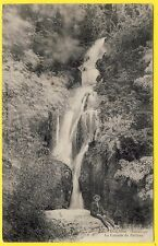cpa Rhône Alpes 38 - SASSENAGE (Isère) DAUPHINÉ La CASCADE du PARISIEN Animé