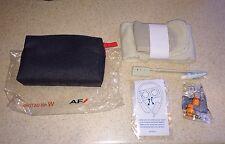 NEW! Air France Amenity Kit Premium Economy Toothbrush Socks Ear Plugs Eye Mask
