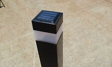 15 X SOLAR FENCE POST CAPS LED LIGHT  POOL GARDEN POST 50X50