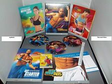 BeachBody Shaun T's Hip Hop Abs DVD Workout Set w/ Insanity Instructor AUTHENTIC