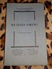 EN PLEIN COEUR - vaudeville en 3 actes  - Jean des Marchenelles, P. d'Aquila