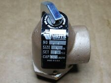 "Market Forge 10-4742 8 Psi Brass Safety Valve 3/4"" Mpt Inlet 3/4"" Fpt Outlet"