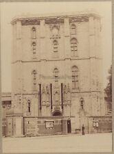 Vincennes Entrée du Château France Vintage albumine ca 1895