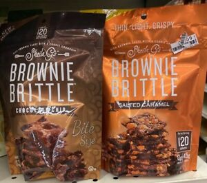 Brownie Brittle SG1224 Chocolate Chip Brownie Brittle, 5-oz. - Quantity 1