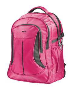 Pink Laptop Backpack 15.6 Hi Viz Womens Rucksack School Bag Macbook 15 16 Bike
