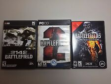 Battlefield PC Games (3) -  Battlefield 3 Limited Edition, 2142, Battlefield 2