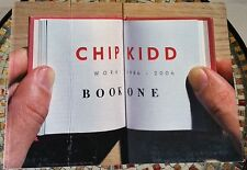 Chip Kidd: Book One: Work: 1986-2006, signed, inscribed