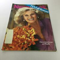 Newsweek Magazine: Sept 8 1975 - TV's Fall Season: Cloris Leachman as 'Phyllis'