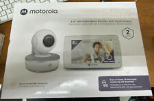 "Motorola VM36XL Touch Connect 5"" HD Wi-fi Video Baby Monitor - White"
