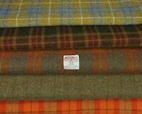 various Sizes ref mar706 Harris Tweed Fabric /& labels 100/% wool Craft Material