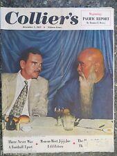 Collier's Magazine  December 1,1951 Governor Dewey and Yu Yu-Jen  VINTAGE ADS