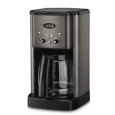Cuisinart DCC-1200BKS Brew Central Coffee Maker, 12 Cup Carafe, Black Stainless