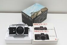 Minolta XE-1 with original box and manuals