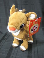 Rudolph the Red Nosed Reindeer Plush Stuffed Toy Deer