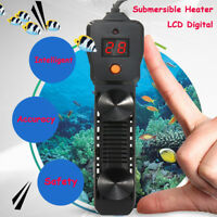Aquarium Submersible Fish Tank LED Digital Adjustable Water Heater Rod 300-500W