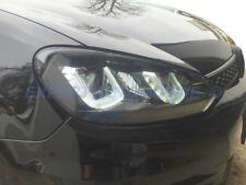 FARI VW GOLF 6 ANGEL EYES AD U (MOD GOLF 7) LED DAYLINE NERI DRL R87 +MOTORNI