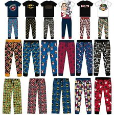 Mens Character Pyjamas Lounge Pants Batman Star Wars Animal Pjs Size S M L XL