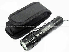 UltraFire Q5 CREE LED 250 Lumens CR123A/16340/17670 Torch with Pouch WF505B