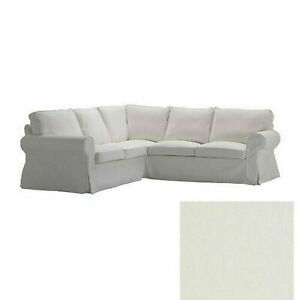 New Original IKEA cover for Ektorp 4-seater [2+2] corner sofa in BLEKINGE WHITE