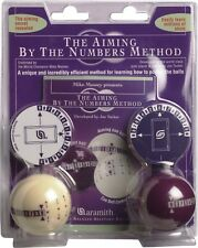 Aramith Aiming by the Numbers Method Training Pool Balls w/ FREE Shipping