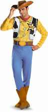 Disney Toy Story Woody Classic Mens Adult Fancy Dress Halloween Costume Plus XXL