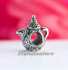 Authentic Pandora Arabian Coffee Pot Sterling Silver Charm 791756