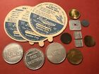Token / Ice Cream Sundae lid lot tax commemorative president Burger King etc