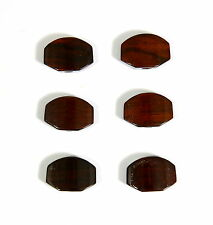 Fit to Grover Guitar Tuner Machine Head Solid Cocobolo Buttons 6 Pieces CO01