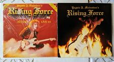 Yngwie Malmsteen's Rising Force 1984 LP & Studio/Live 85 Maxi Single