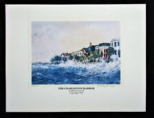 The Charleston Harbor Print by Shirley Carroll - Signed Limited Ed #'d 174/1000