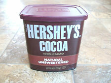 2 Hersheys Cocoa 8 oz Natural 100T Cacao Unsweetened Powder 16 oz Total NEW
