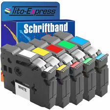 Schriftband für Brother P-Touch PT E100 H100R H105 D200 H300 1000 1010 1090 1230