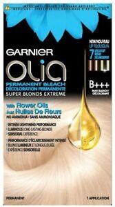 Garnier Olia Permanent Bleach Hair Color, B+++ Max Bleach, Up to 7 Levels Lift