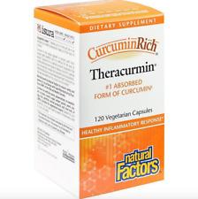 Natural Factors - CurcuminRich Theracurmin Turmeric 30 mg - 120 Capsules