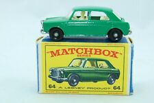 Matchbox Lesney No 64 M.G 1100 - Made In Great Britain - Boxed