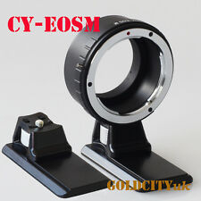 Contax/Yashica C/Y CY Mount Lens to EOSM EF-M Mount Adapter CY-EOSM With Tripod