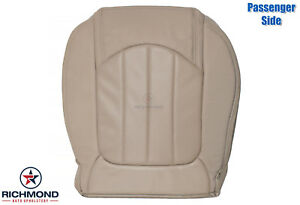 2008-2012 Buick Enclave -Passenger Side Bottom Perforated Leather Seat Cover Tan