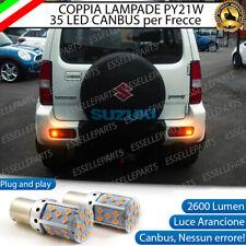 COPPIA LAMPADE PY21W BAU15S CANBUS 35 LED SUZUKI JIMNY FRECCE POSTERIORI