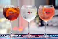 Set 6 Bicchieri Coppe Calici Pubblicitari Martini Balloon 47cl Nuovi con Scatola