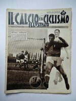 IL CALCIO E IL CICLISMO ILLUSTRATO 46 1958 Francia Italia Nicolè