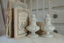 UNPAINTED 45mm SECONDS French Amelie Curtain Pole FINIAL by Alison Davies Design