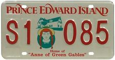 Véritable Plaque D'Immatriculation Prince Edward Island - Canada - License Plate