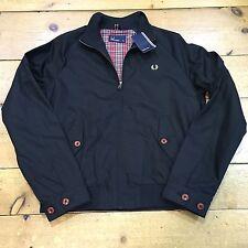 Fred Perry Ealing Jacket Black J8230 - XXL