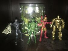Marvel Legends Lot Spiderman Green Goblin Hulk Iron Man