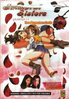 DVD EROTICS MANGA SEXY HOT ANIME,IMMORAL SISTERS 1,2,3 TWO PREMATURE FRUITS hard