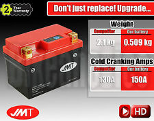 Upgrade! Honda CBR 400 RR NC29 Lightweight Lithium battery -1.5kg in weight