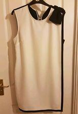 Ted Baker ELIJA Double Layered bow Detaik Tunic Dress Ted Size 4 UK Size 14