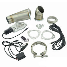 3.0 Inch Remote Electric Y-Headers Exhaust Cutout Downpipe Catback Valve System