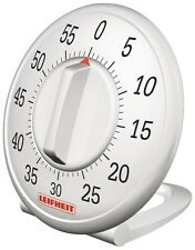 Leifheit Comfortline Signtaure Kitchen Timer Plastic White 60 minutes